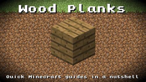 minecraft wood planks recipe item id information