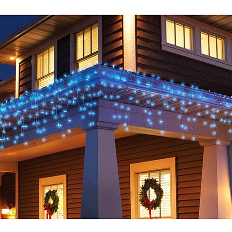 holiday time 300 count blinking icicle christmas lights