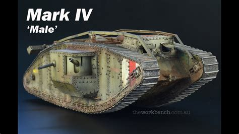 Build, Painting And Weathering Takom's Mark Iv 'male