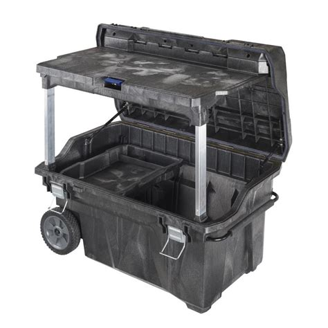 storage chest furniture shop irwin mobile command center 40 5 in structural foam