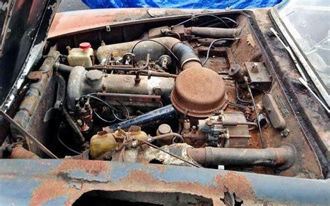 rusty benz  mercedes sl