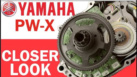 yamaha pw motor yamaha pw x ebike motor closer look