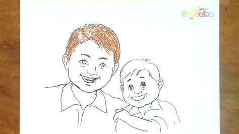 gambar wajah anak untuk mewarnai