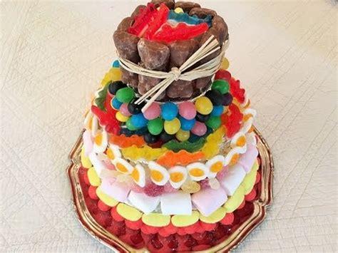 recette gateau de bonbons     candy cake youtube