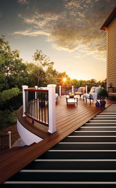 brilliant transitional deck designs