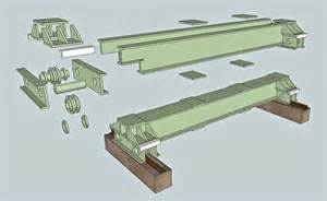 house plan for narrow lot overhead crane the river railroad