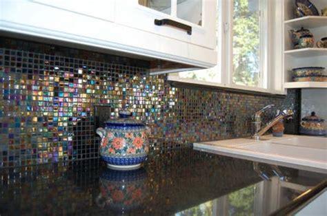 iridescent tiles backsplash uk 9 eye catching backsplash ideas for every kitchen style