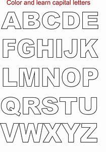 Alphabet Template Stencil Word