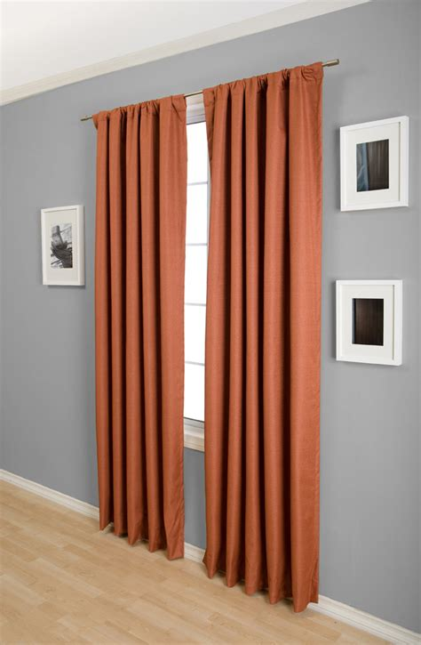 spice colored curtains suite blackout curtain drapery panels