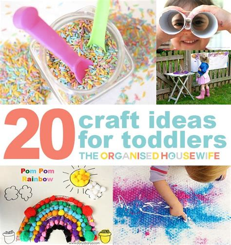 Craft Ideas For Toddlers  Kids Craft Ideas