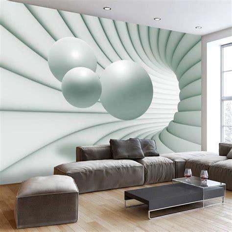 papier peint trompe l oeil papier peint 3d cr 233 ant un effet abstrait et trompe l œil saisissant 3d walls and wallpaper