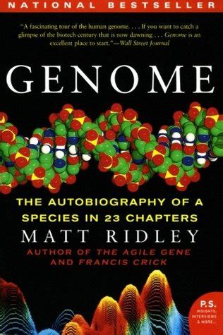 genome  autobiography   species   chapters