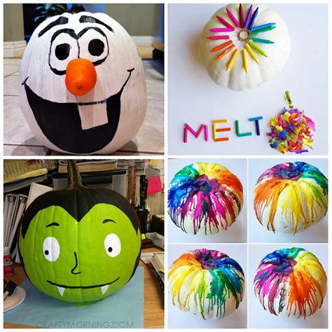 Clever No Carvepainted Pumpkin Ideas For Kids Crafty