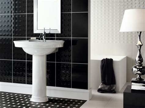 black bathrooms ideas black white bathroom design ideas interiorholic com