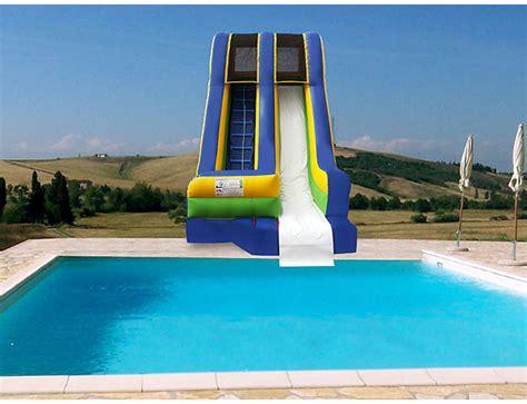 17' Swimming Pool Waterslide Bouncer Rental  Kicks And