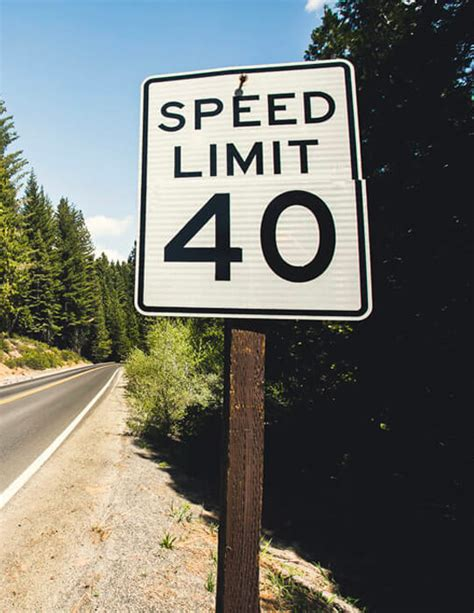 Speed Limit Sign: What Does it Mean?