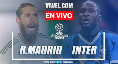 Real Madrid vs Inter en VIVO ONLINE – UEFA Champions ...