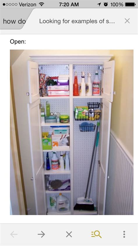 Small Broom Closet Organization Ideas by 17 Best Images About Willowsford Kitchen Pantry On