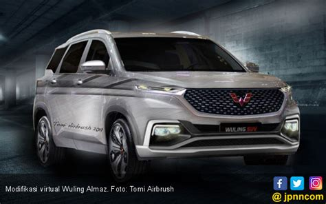 Wuling Almaz Modification by Menikmati Modifikasi Wuling Almaz Otomotif Jpnn