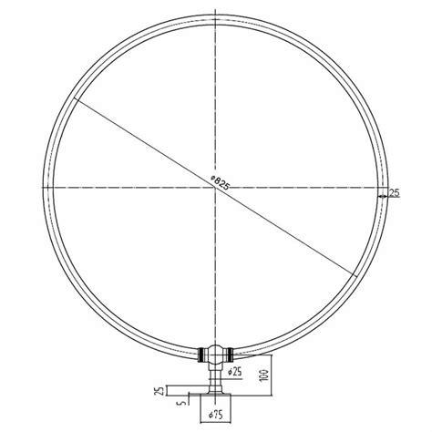 Tenda Doccia Circolare by Barra Reggitenda Vasca E Doccia Circolare Con Diametro Di