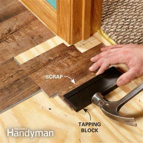 install luxury vinyl flooring  family handyman