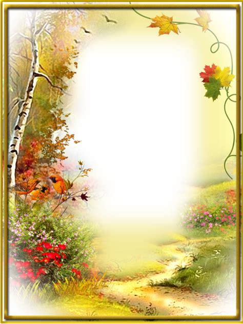 Border Background Hd by Ftestickers Background Borders Autumn Fall