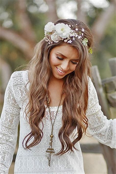 Messy Chic Boho Wedding Hairstyles That Will Make You