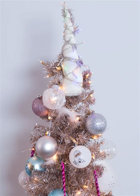 alternative christmas tree ideas diy unicorn tree