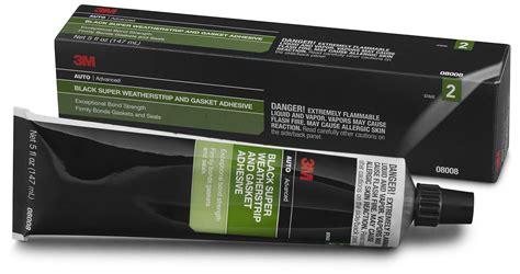 3m 08008 Black Super Weatherstrip And Gasket Adhesive, 5