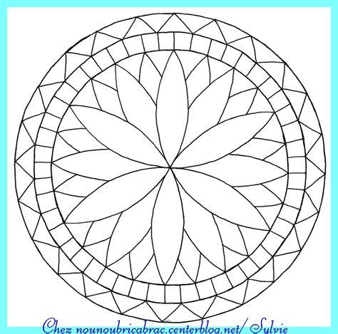 Dessin A Imprimer Mandala Mandala Simple 224 Imprimer