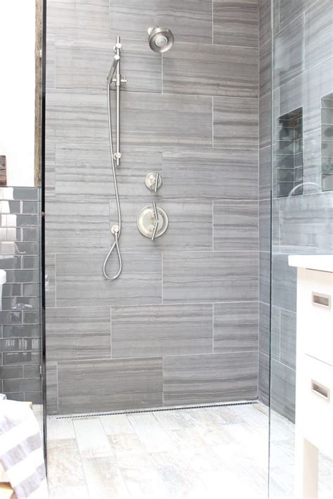 Porcelain Tile Bathroom Ideas by Design Indulgence Before And After Shower Tile Here