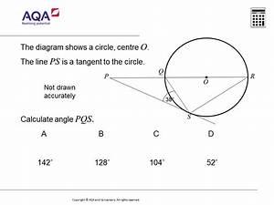 Circle Equation Questions Gcse