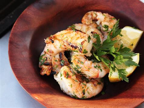 grilling shrimp grilled shrimp with garlic and lemon recipe serious eats