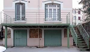 fabrication terrasse sur mesure bois metal ferronnerie With terrasse metallique en kit