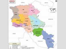 Where is Armenia located? Location map of Armenia
