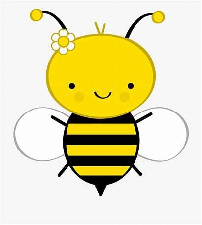 Bee Bumble Cartoon Clipart Bumblebee Clip Background