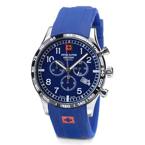 www shop bild de uhren swiss alpine herrenuhr chronograph mit silikonarmband blau kaufen bestellen im bild
