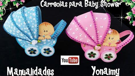 carreola con bebe para baby shower