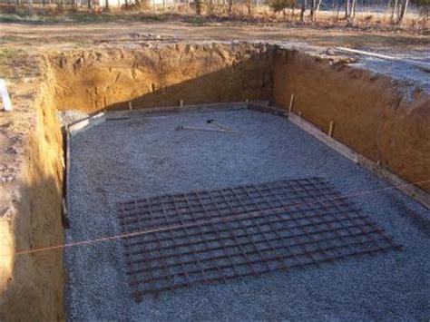 pr 233 paration de la dalle b 233 ton construction piscine bois maeva integrale