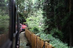 endless traveling map the alishan forest railway taiwan