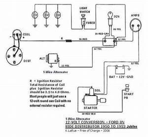 34 Ford 8n Wiring Diagram 12 Volt