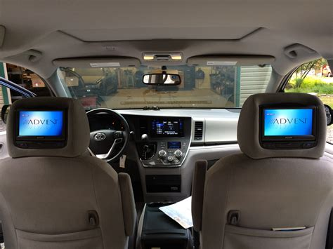 blossom installations toyota sienna  factory matched