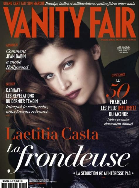 laetitia casta vanity fair magazine december 2013 issue