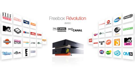 chaine cuisine canalsat tout savoir sur l 39 offre freebox révolution avec tv by