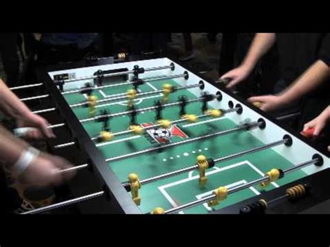 pro foosball player tony spredeman talks   youtube
