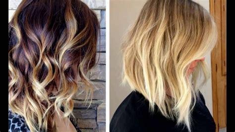 Balyage Highlights For A Long Bob Hairstyles