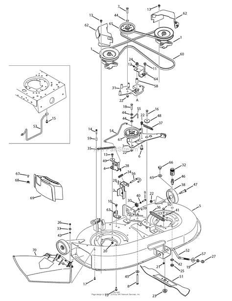 Troy Bilt Bronco Deck Belt Diagram by Troy Bilt 13av60kg011 Bronco 2008 Parts Diagram For