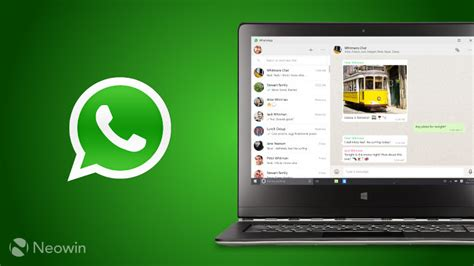 on the heels of itunes and spotify whatsapp desktop app is coming to the windows store neowin