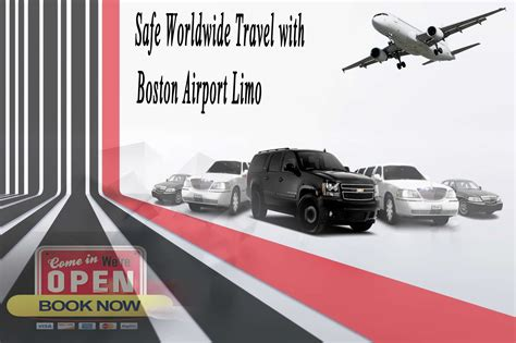 Limo Ride To Airport by Safe Worldwide Travel Boston Car Service Boston Limo
