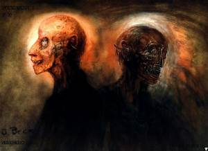 """H.R. Giger's Original Designs for """"Poltergeist II"""" Are ..."""